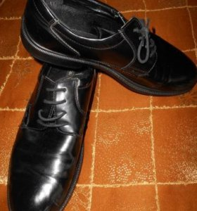 Туфли черные из Центр обувь р 42