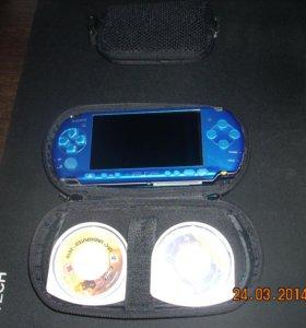 PSP-3008+2игры