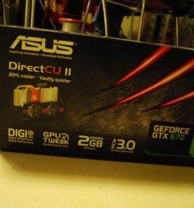 ASUS Geforce GTX 670 2 GB