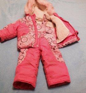 Зимняя одёжка для девочки