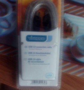 USB 2.0 кабель Vivanco 3м