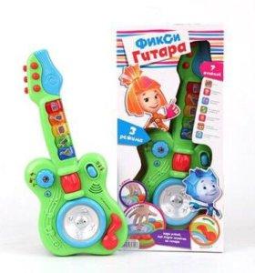 Новая гитара Фиксики