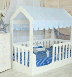Кроватка домик от производителя