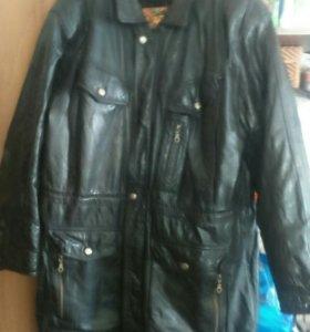 Куртка коженая мужская.