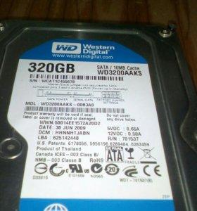 Жёсткий диск на 320 Гб