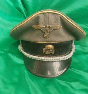 Немецкая фуражка. 8 дивизия СС. 3 рейх. Оригинал