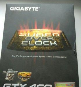 Видеокарта GIGABYTE GeForce GTX 460 1gb gddr5