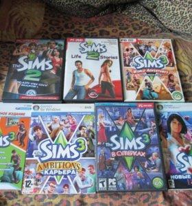 Sims 2 и sims 3