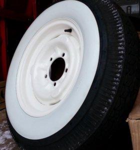 Новые колеса к 21-й Волге 6.75 R15