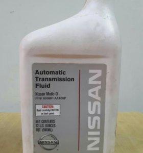 Трансмиссионное масло NISSAN оригинал.на доливку.