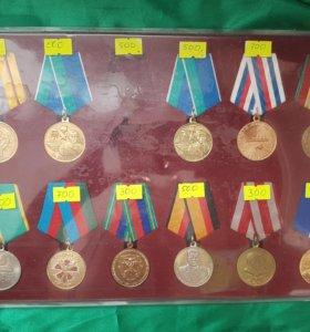 Медали от 350 до 3500