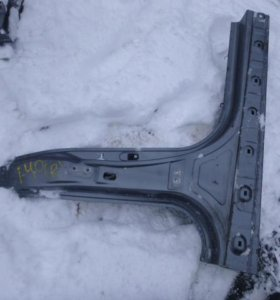 Порог со средней стойкой для Hyundai i40