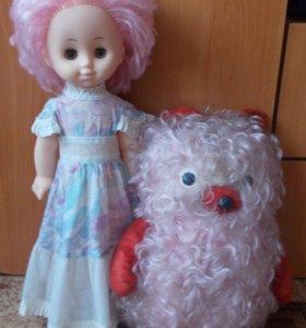 Кукла и мишка