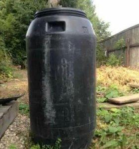 Бочка пластиковая пищевая 260 литров