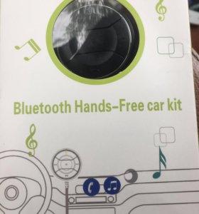 Bluetooth hands free aux  MP3 адаптер для авто