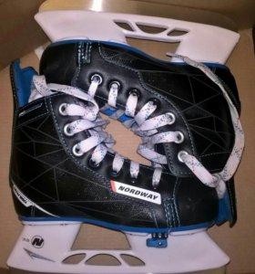 Хоккейные коньки раздвижные детские Nordway