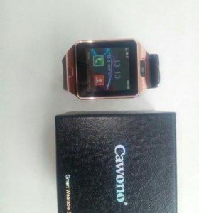 "Смарт часы ""cawono"" dz09"