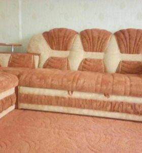 Мебель диван угловой