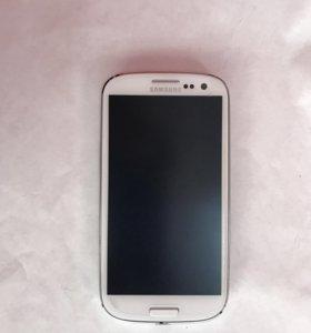 Samsung S3 duos white