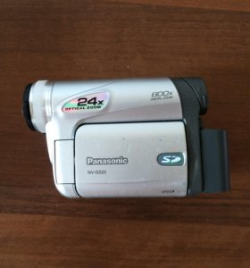 Panasonic NV-GS25 раритет 2006 года выпуска