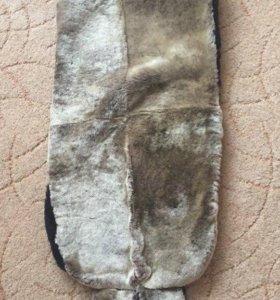 матрасик в коляску,санки(натуральный мех)