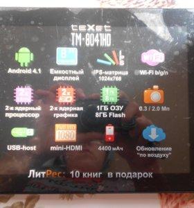 Планшет ТeXet 8041 HD