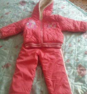Весенний костюм для девочки 1,5-2 года