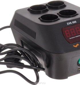 Стабилизатор сетевой Vinon ZVK-500VA (цифровой)
