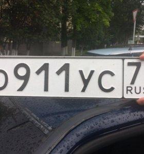Авто с красивым номером