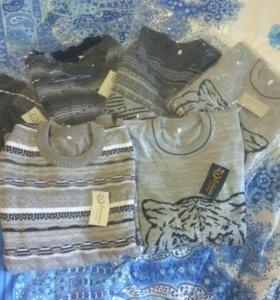 Шерстяные свитера с акрилом