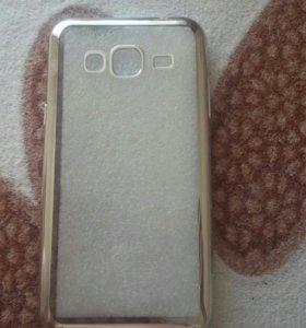 Чехол силиконовый на Samsung Grand prime