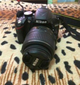 Фотоаппарат зеркальный Nikon D3200 kit 18-55VRII B