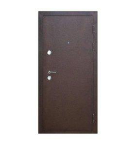 Дверь входная Толстяк 10см метал/метал