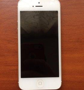 Apple iPhone 5 Silver 64 GB