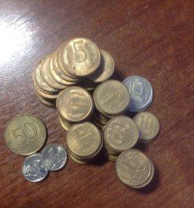 Монеты 91-93 гг
