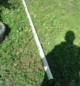 Б/у труба d76 .длин. 3. м