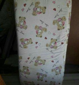 Матрац детский в кроватку
