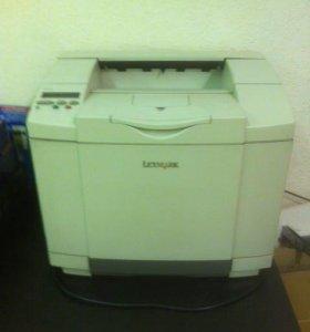 Принтер лазерный цветной Lexmark C-510