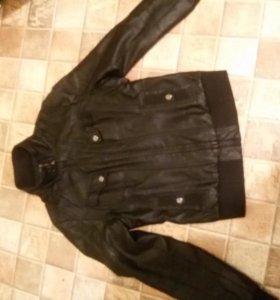 куртка кож 42 р-р