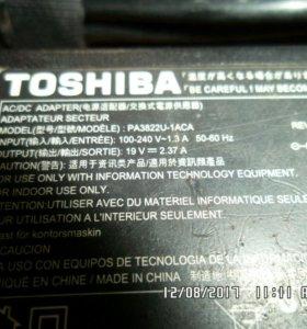 Оригинальный Блок питания к ноут-нэт буку toshiba