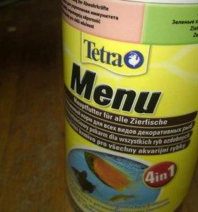 Корм Tetera menu 4 в 1 250