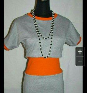 Платье туника р42-46