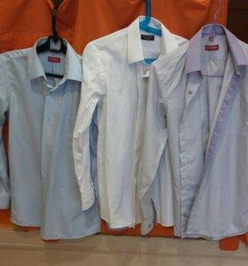 Рубашки для мальчика. Рост 140-146.
