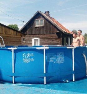 Каркасный бассейн.