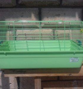 Клетка с поилкой для кролика