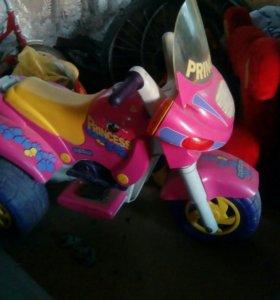 Продам мотоцикл детский на аккамуляторе