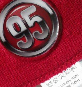 Демисезонняя шапка+ шарф р.50-52