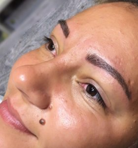 Волосковый татуаж
