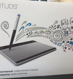 Графический планшет intuos wacome + адаптер