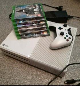 XBOX ONE(500гб., В отличном состоянии) + 6 игр
